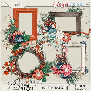 Tis The Season: Cluster Frames by LDragDesigns