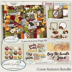 I Love Autumn Bundle