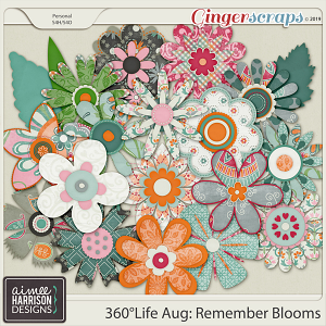 360°Life Aug: Remember Blooms by Aimee Harrison