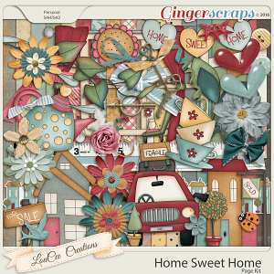 Home Sweet Home Page Kit