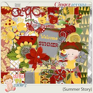 Summer Story Scrapbooking Kit