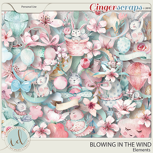 Blowing In The Wind Elements by Ilonka's Designs