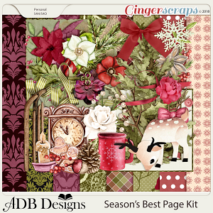 Season's Best Page Kit by ADB Designs
