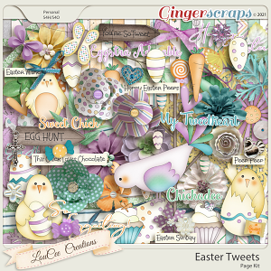 Easter Tweets by LouCee Creations