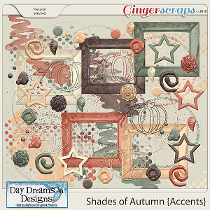 Shades of Autumn {Accents} by Day Dreams 'n Designs