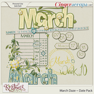 March Daze Date Pack