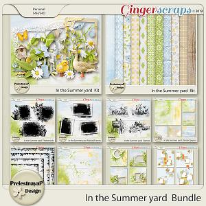 In the Summer yard Bundle