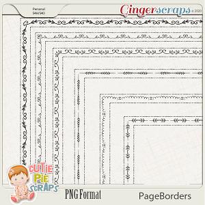 Page Borders 54 By Cutie Pie Scraps