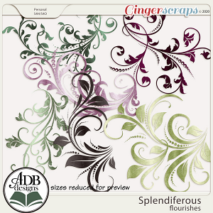 Splendiferous Flourishes by ADB Designs