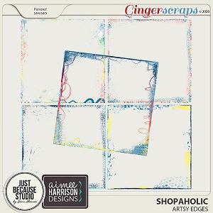 Shopaholic Artsy Edges by JB Studio and Aimee Harrison Designs
