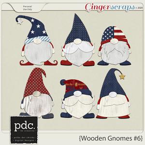 Polka Dot Chicks: Wooden Gnomes #6