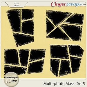 Multi-photo Masks Set5