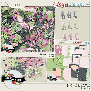 Highs and Lows - Bundle by Lisa Rosa Designs