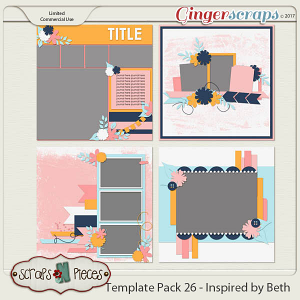 Template Pack 26 - Inspired by Beth