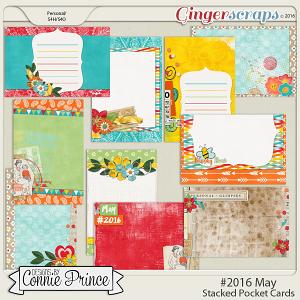 #2016 May - Stacked Pocket Cards