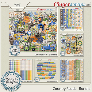 Country Roads - Bundle by CathyK Designs