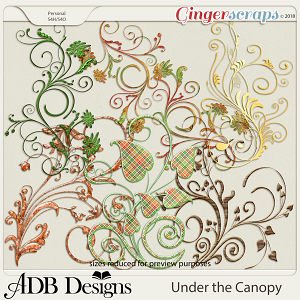 Under The Canopy Flourishes by ADB Designs