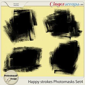 Happy Strokes Photomasks Set4