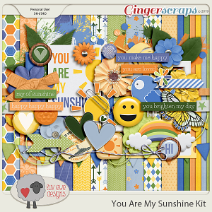 You Are My Sunshine Kit by Luv Ewe Designs