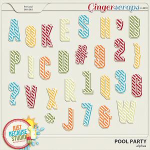 Pool Party Alphas by JB Studio