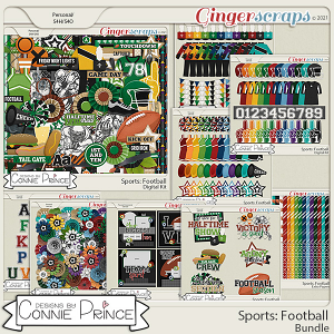 Sports: Football  - Bundle by Connie Prince