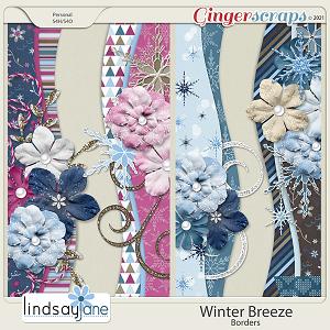 Winter Breeze Borders by Lindsay Jane