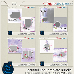 Beautiful Life Bundle by Miss Fish