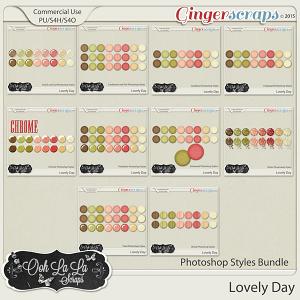 Lovely Day CU Photoshop Styles Bundle