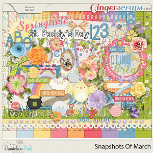 Snapshots Of March by Dandelion Dust Designs