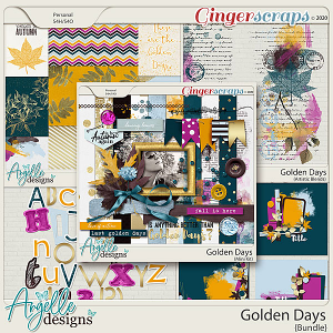 Golden Days Bundle by Angelle Designs