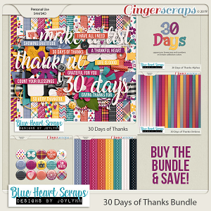 30 Days of Thanks Bundle