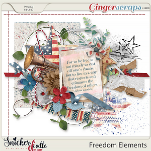 Freedom Elements by Snickerdoodle Designs