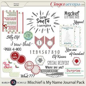 Mischief is my Name Journal Pack by Karen Schulz