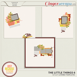 The Little Things 6 Templates by JB Studio