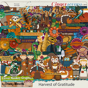 Harvest of Gratitude by Clever Monkey Graphics