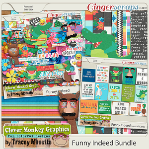 Funny Indeed Bundle by Clever Monkey Graphics