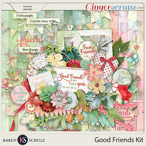 Good Friends Kit by Karen Schulz