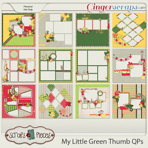 My Little Green Thumb Quick Pages