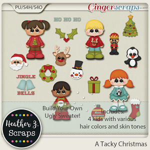 A Tacky Christmas BYO SWEATER by Heather Z Scraps