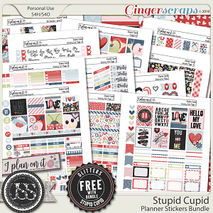 Stupid Cupid Planner Bundle
