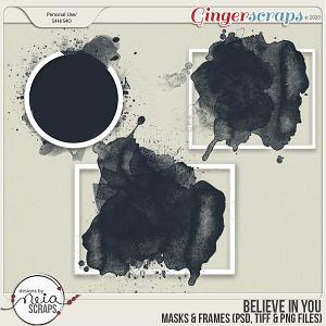 Believe in You - Masks - by Neia Scraps