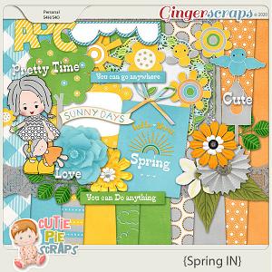 Spring IN Digital Scrapbooking Kit