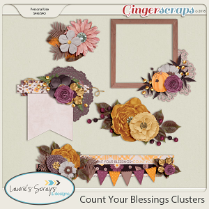 Count Your Blessings Clusters