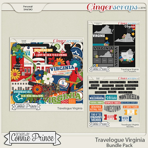 Travelogue Virginia - Bundle Pack