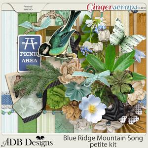 Blue Ridge Mountain Song Petite Kit by ADB Designs