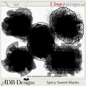 Spicy Sweet Masks by ADB Designs