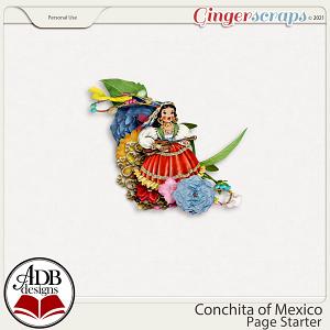 Conchita of Mexico Cluster Gift 04 by ADB Designs