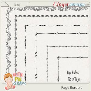 Page Borders 44 By Cutie Pie Scraps