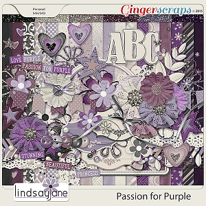 Passion for Purple by Lindsay Jane