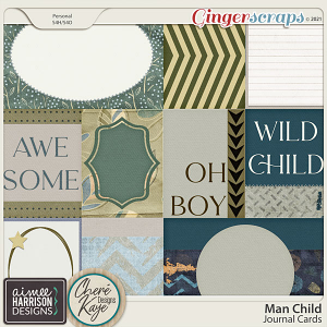 Man Child Cards by Aimee Harrison and Chere Kaye Designs